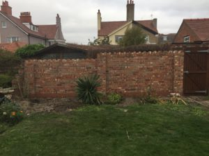AB BUILDING SERVICES LTD Boundary wall