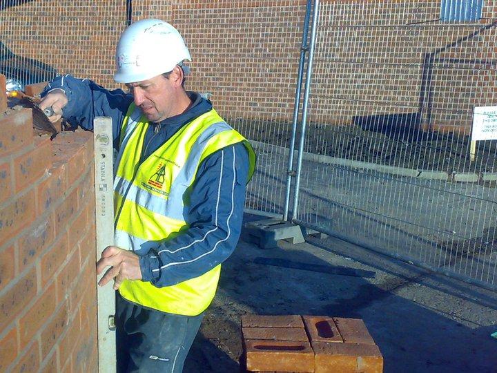 AB BUILDING SERVICES LTD ng a circular wall