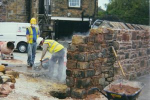 Extending sandstone