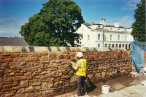 AB BUILDING SERVICES LTD Pointing sandstone